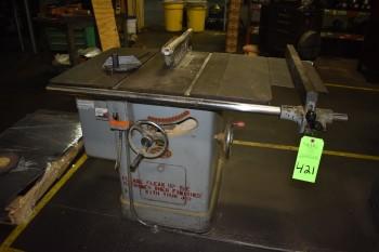 Powermatic Wood Table Saw, Model 65