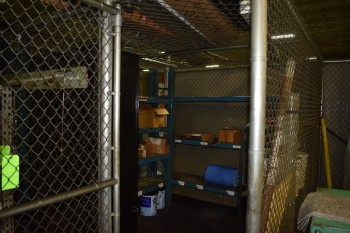 Chain Link safety Cage w/Contents