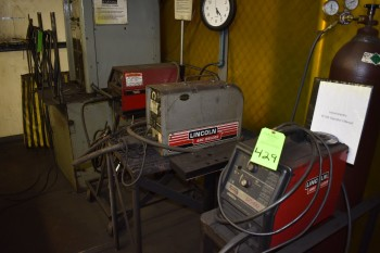 lot of (3) portable LIncoln Welders