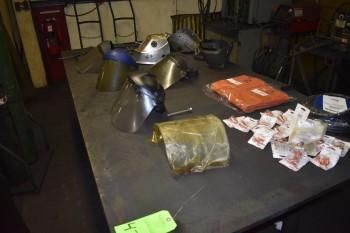 Metal Weld table w/ Weld supplies