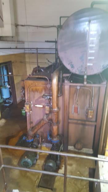 Vista Filtration w/ Pistell Unit w/ centralized Boiler, Cleaning Solvent