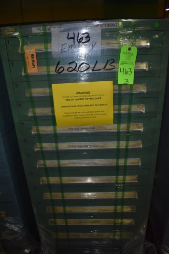 (3) Stanley Vidmar style Tool Cabinets