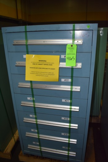 Stanley Vidmar drawer style Tool Cabinet