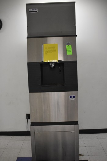 Ice-O-Matic Commercial Cafeteria Ice Maker & Water dispensor, s/n:610149209