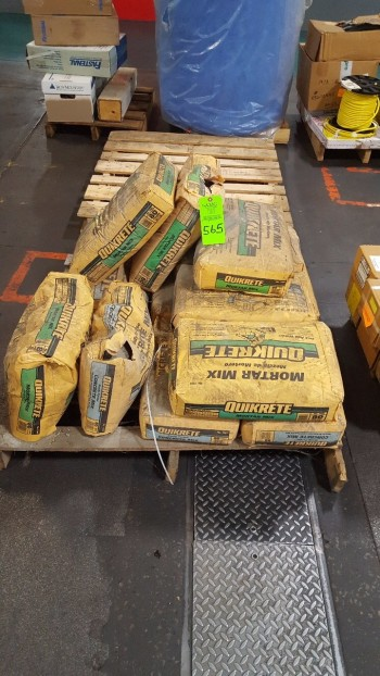 Pallet of Quick-Crete Concrete & Mortar mix