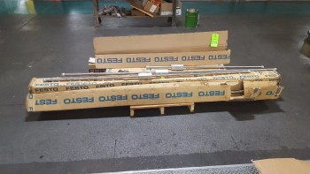 Lot of Festo rodless Cylinders