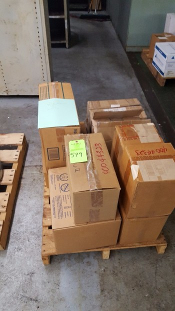 Lot of (5) boxes w/ roll feed labels, 6\