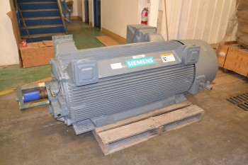 SIEMENS INDUCTION MOTOR 600 HP