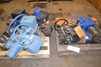 2 PALLETS OF ASSORTED VALVE ACTUATORS