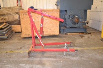 AMERICAN FORGE ENGINE CRANE, 3580A, 4400 LBS. CAPACITY