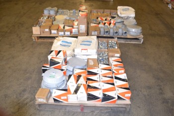 3 PALLETS OF ASSORTED CONDUIT FITTINGS