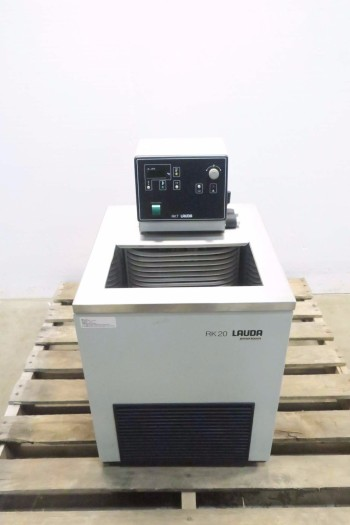 LAUDA RK20 RKT 20 RECIRCULATING WATER BATH CHILLER LAB EQUIPMENT