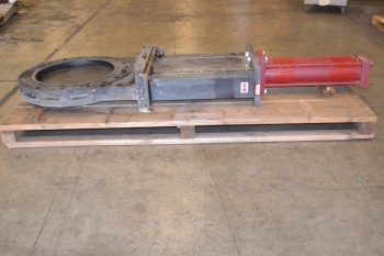 24IN WEY KNIFE GATE VALVE, NA24-0100, 150WOG, FLANGED