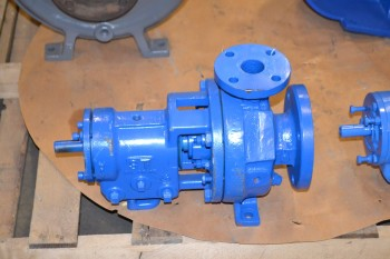 GOULDS 1 1/2X3X6 CENTRIFUGAL PUMP