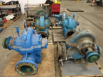 6 PALLETS OF ASSORTED PACO CENTRIFUGAL PUMPS