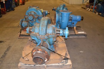 LOT 0F 5 ASSORTED PACO CENTRIFUGAL PUMPS