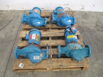 LOT OF 4 PACO VERTICAL INLINE PUMPS 1620705130112502