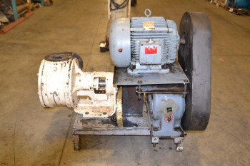VIKING PUMP M125 GEAR PUMP ASSEMBLY WITH WESTINGHOUSE 15 HP ELECTRIC MOTOR