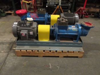 LOT OF 2 IMO BOILER FEED PUMP W/ 20 HP MOTOR