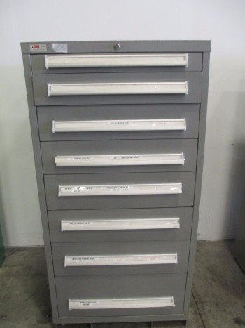 LYON MSS II SAFETYLINK 8 DRAWER TOOL BOX/STORAGE