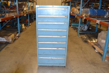 LISTA 8-DRAWER TOOL STORAGE CABINET