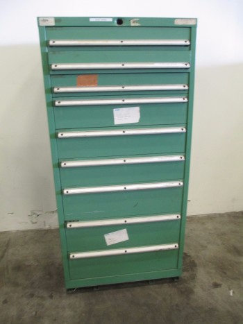 LISTA 9-DRAWER TOOL STORAGE CABINET