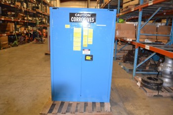 SECURALL SAFETY STORAGE CABINET, MODEL C345