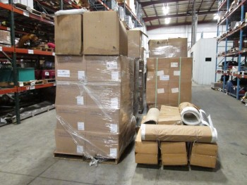 6 PALLETS OF ASSORTED PNEUMATIC FILTERS, BAGS, SCREENS