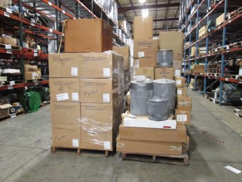 6 PALLETS OF ASSORTED PNEUMATIC FILTERS, FILTER BAGS