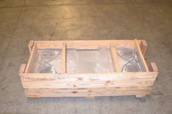 CRATE OF 12 HEAT EXCHANGER PLATES