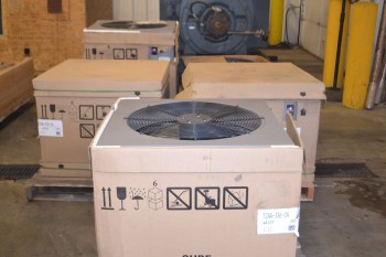 LOT OF 5 ASSORTED CENTRAL AIR UNITS
