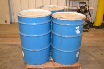 LOT OF 3 BARRELS OF SURTAC 2000 HD MULITSERVICE LUBRICANT
