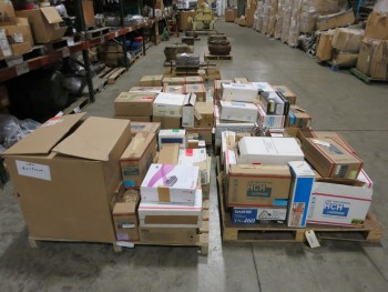 4 PALLETS OF ASSORTED PRINTER TONER CARTRIDGES