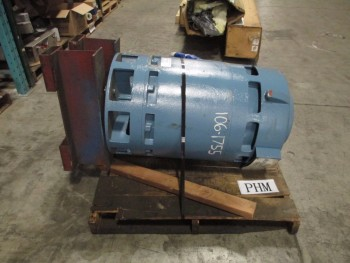 GENERAL ELECTRIC INDUCTION MOTOR 150 HP