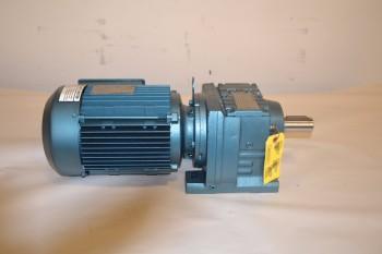 SEW EURODRIVE R57DT100LS4-KS 16.79:1, 1720 RPM GEAR REDUCER
