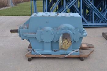 PHILADELPHIA GEAR 38.4:1 GEAR REDUCER, 125 HP