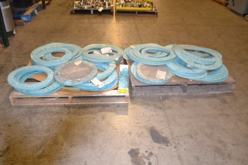 2 PALLETS OF GARLOCK OIL SEALS, ASSORTED SIZES
