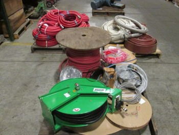 3 PALLETS OF ASSORTED HOSE AND TUBING
