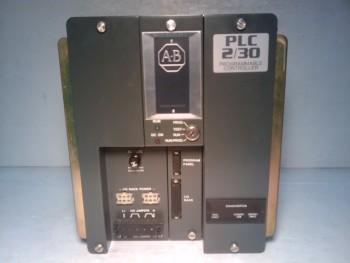 Allen Bradley 1772-LP3 PLC 2/30 Programmable Controller With (4) Module.