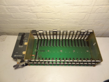 Allen Bradley 1771-AD I/O Chassis With 1771-P2 Power Supply