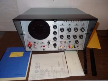 Siemens DTS-531R Distortion Test Set With Logic Diagraman