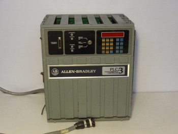 Allen Bradley 1775-A1 PLC-3 Main Chassis Programmable Controller W/ (5) Modules