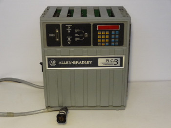 Allen Bradley 1775-A1 PLC-3 Main Chassis Programmable Controller W/ (6) Modules