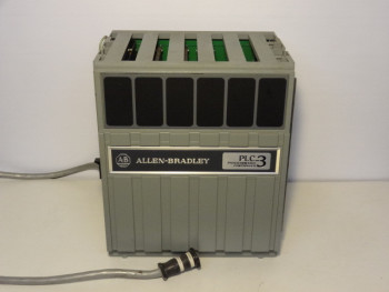 Allen Bradley 1775-A2 PLC-3 Expansion Chassis Programmable Controller W/ 4 Modu