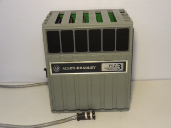 Allen Bradley 1775-A2 PLC-3 Expansion Chassis Programmable Controller W/ 3 Modu