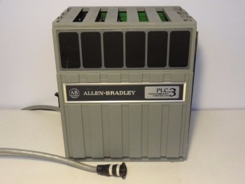 Allen Bradley 1775-A2 PLC-3 Expansion Chassis Programmable Controller W/3 Module