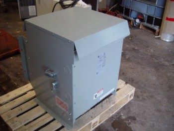 HPS - Hammond 19 Kva Single Phase Dry Type Transformer 480V - 208V P/N 187726