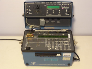 Phoenix Microsystems 5575A T1 Micro Bert Test Set With 5565 DSO Drop Insert