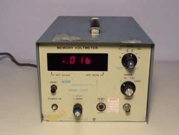 Micro Instrument 5203 Memory Voltmeter