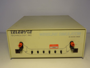 Telebyte 452 T1/E1 Wireline Simulator 26 Gauge Cable